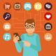 Social Media Addiction - GraphicRiver Item for Sale