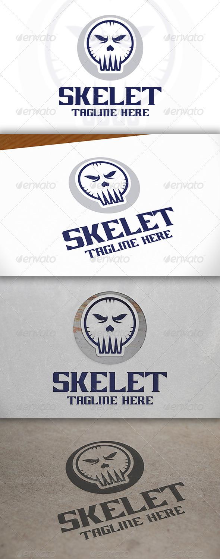 GraphicRiver Skull Logo 6678773