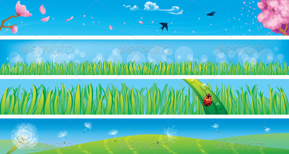 GraphicRiver Spring Banners 6679184