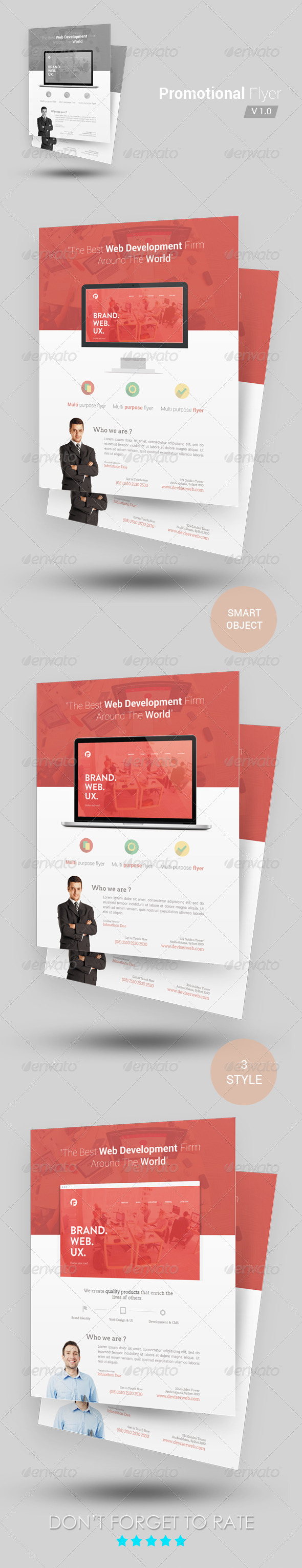 GraphicRiver Promotional Flyer Template 6679193