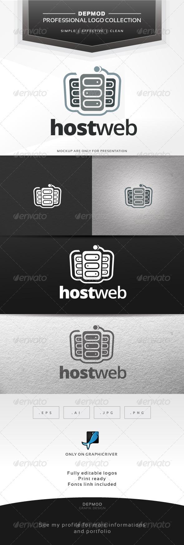 GraphicRiver Host Web Logo 6679207