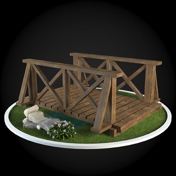 3DOcean Bridge 011 6679209