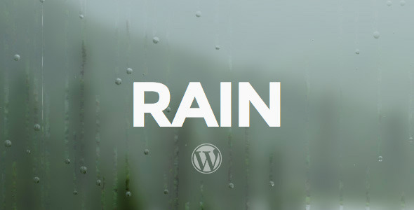 ThemeForest RAIN Responsive WordPress Theme 6679467