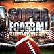 Super Football Sunday Nights - GraphicRiver Item for Sale
