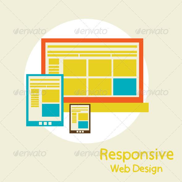 GraphicRiver Responsive Web Design 6679519