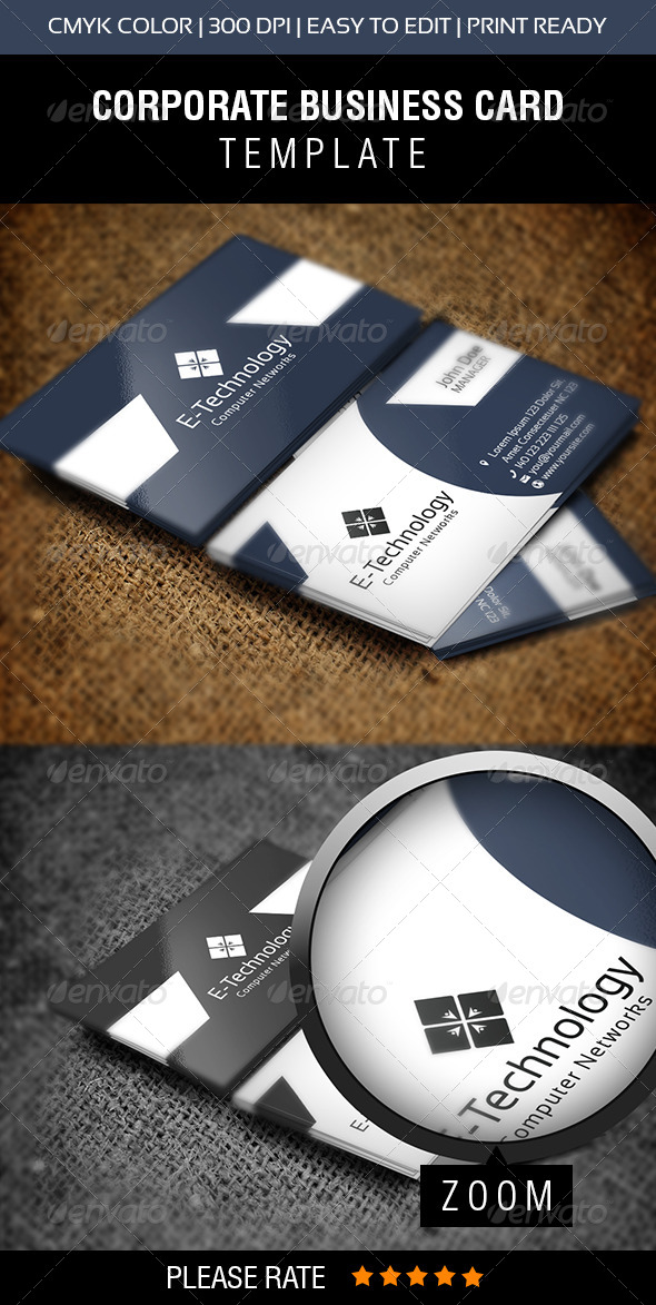 E-Technology Business Card
