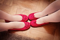 Pink Shoes of Two Little Sisters - PhotoDune Item for Sale