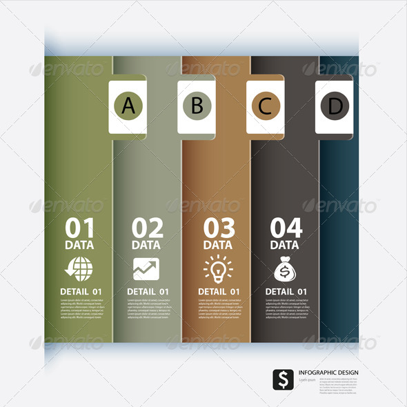 GraphicRiver Vector Paper With Index on White Background 6679684