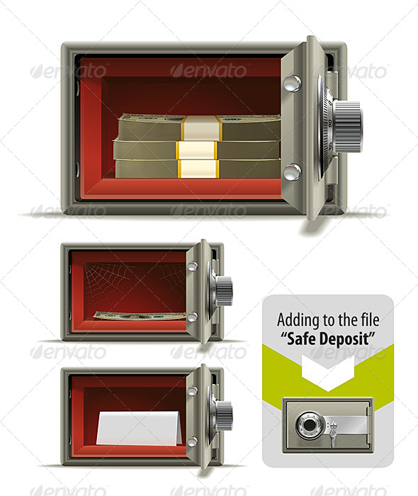 GraphicRiver Safe Deposit Open 6679772