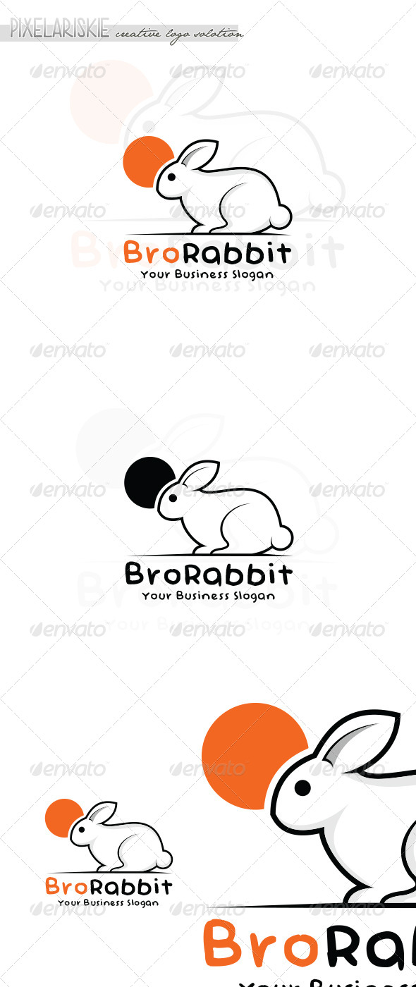 GraphicRiver Rabbit Animal Logo 6680406