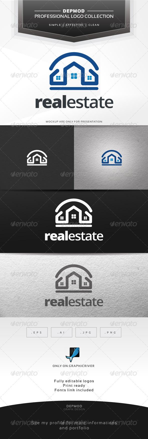 GraphicRiver Real Estate Logo 6680547