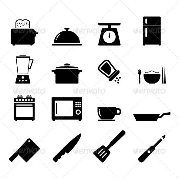 GraphicRiver Kitchen Icon 6680552