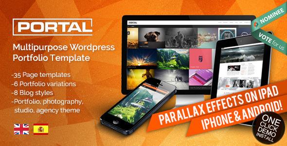 Portal - Multipurpose Wordpress Portfolio Template