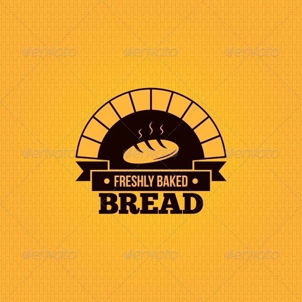 GraphicRiver Bread Vintage Background 6680843