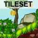 Platform Game Tileset 6: Volcano