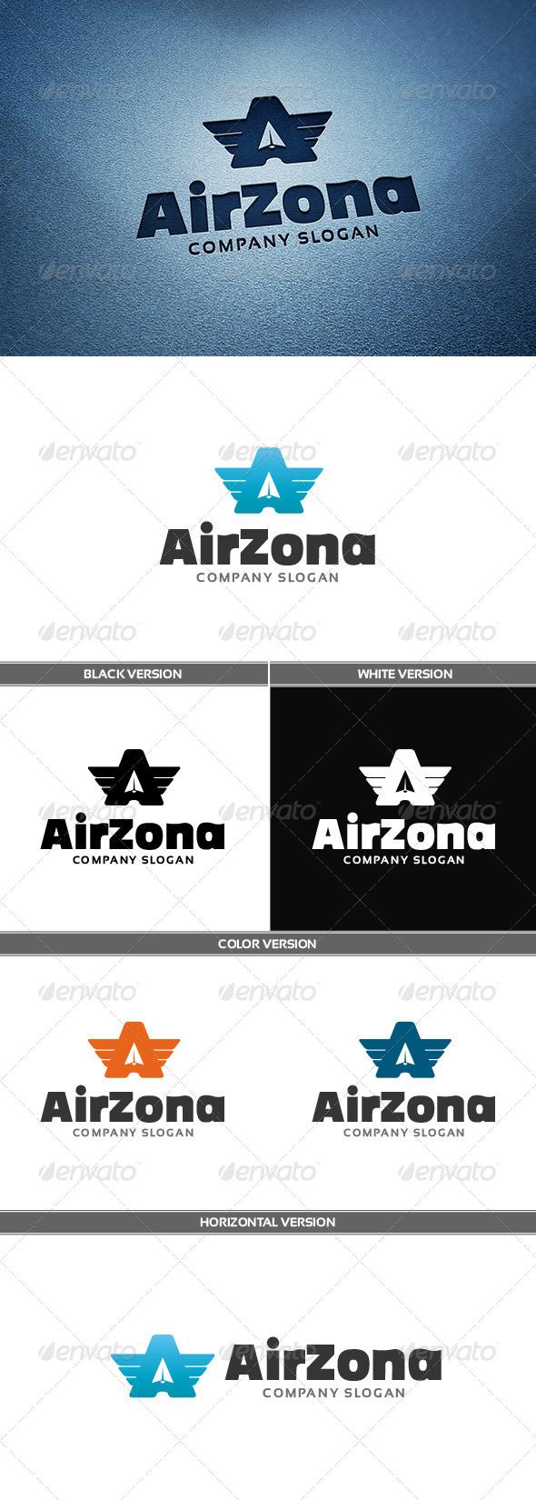 GraphicRiver Airzona Logo 6681035