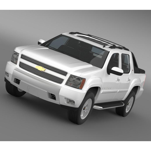 3DOcean Chevrolet Avalanche Z71 6681423