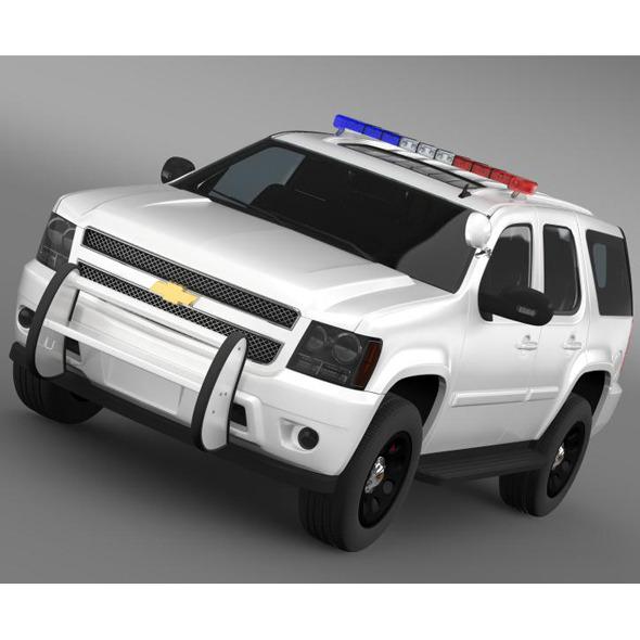 3DOcean Chevrolet Tahoe Police 6681450