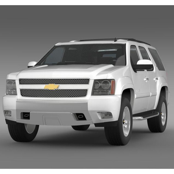 Chevrolet Tahoe Z71 - 3DOcean Item for Sale