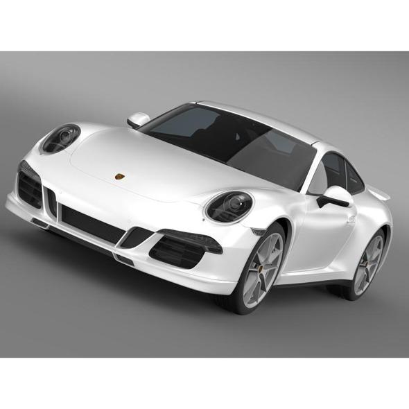 Porsche 911 Carerra 4S Facebook 5M1 - 3DOcean Item for Sale