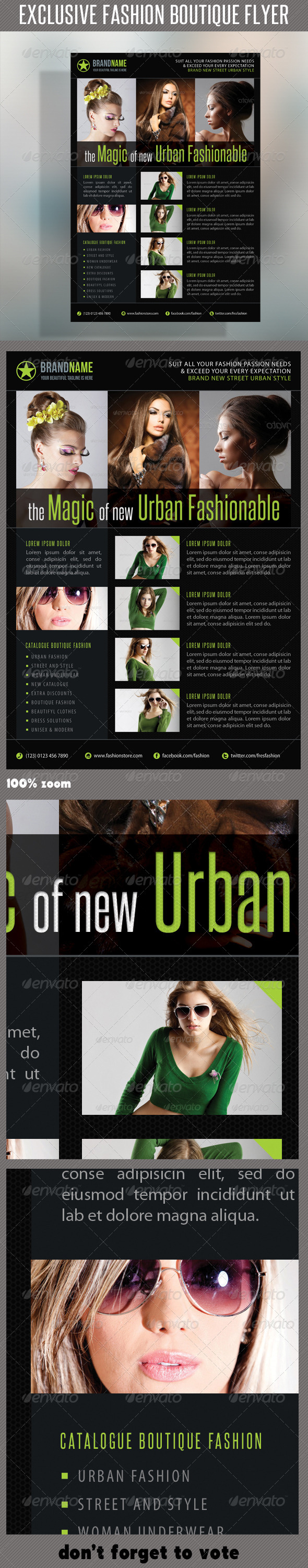 GraphicRiver Fashion Product Flyer 33 6681947