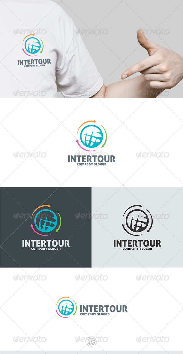 Intertour logo - Symbols Logo Templates
