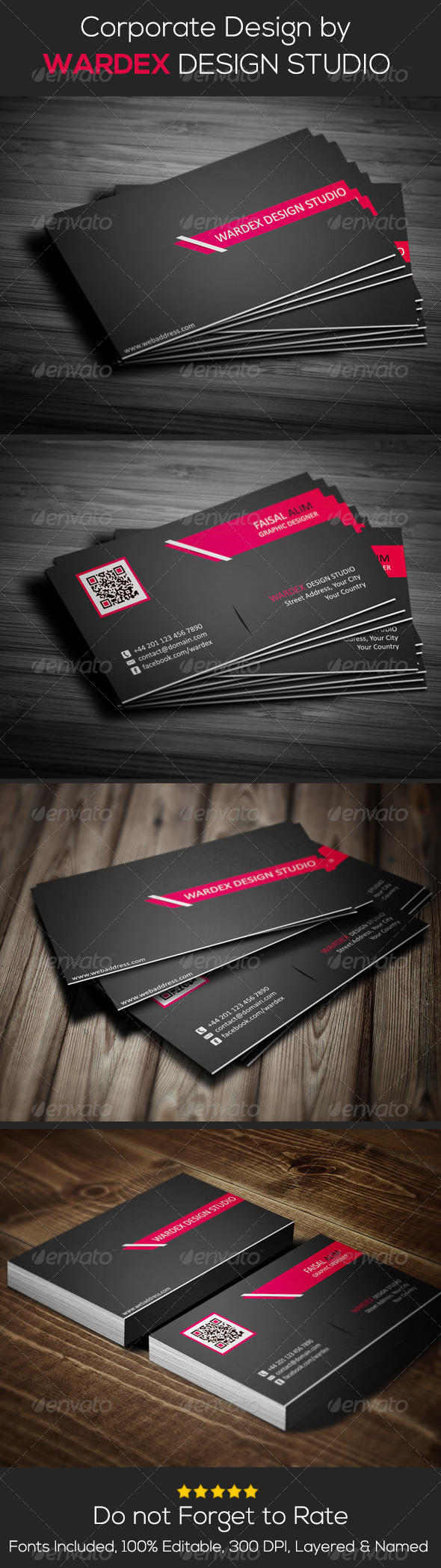 GraphicRiver Corporate Business Card Design 6681180