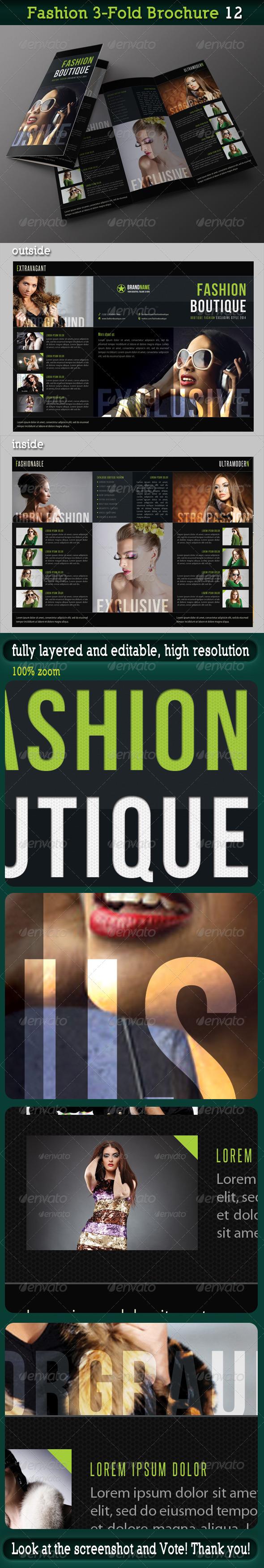 GraphicRiver Fashion 3-Fold Brochure 12 6682306