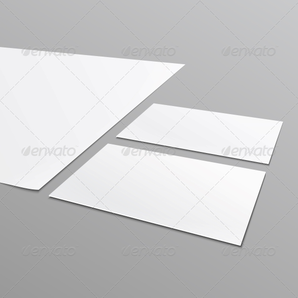 GraphicRiver Blank Stationery Layout A4 Paper Business Card 6682673