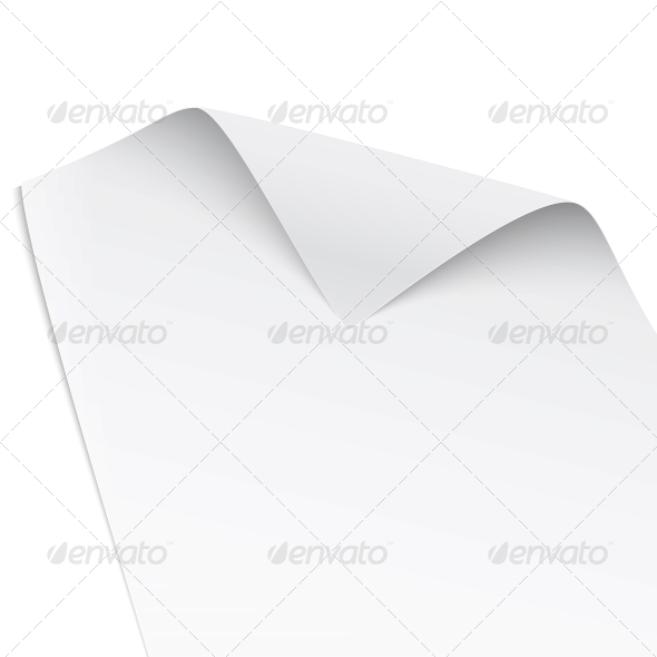 GraphicRiver Paper with Twisted Corner 6682680
