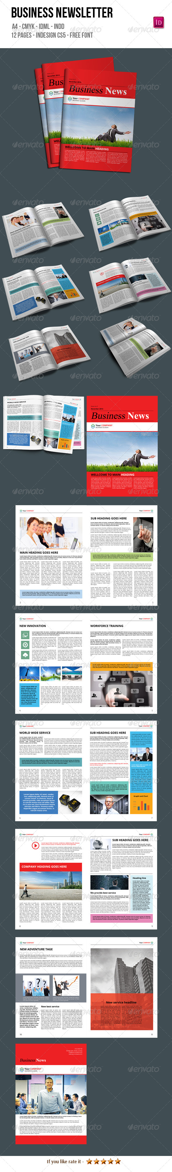 GraphicRiver Business Newsletter 6683024