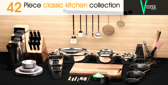 3DOcean Kitchen Appliances 6683192