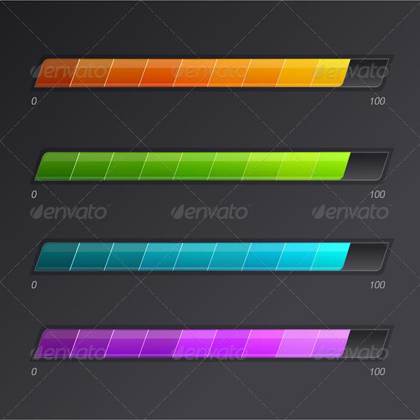 GraphicRiver Progress Loading Bars 6683682