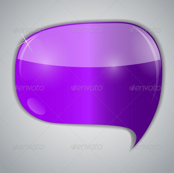 GraphicRiver Speech Bubbles Vector Illustration 6683704