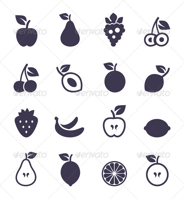 GraphicRiver Icon Fruit 6683951