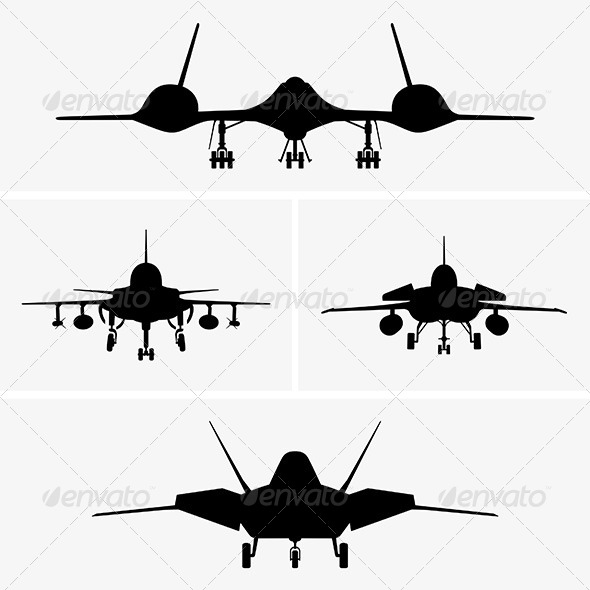 GraphicRiver Airplanes 6684394