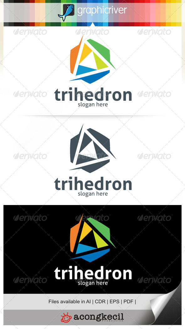 GraphicRiver Triangle V.2 Logo Template 6684422