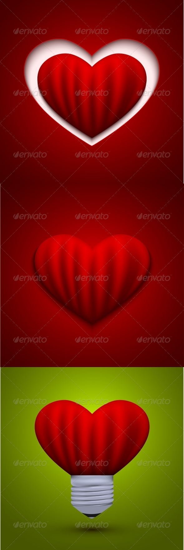 GraphicRiver Vector Valentines Day Background Eps10 6684568