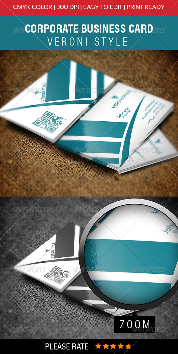 GraphicRiver Corporate Business Card 6684644