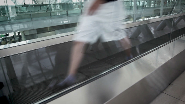 Motion in Travelator