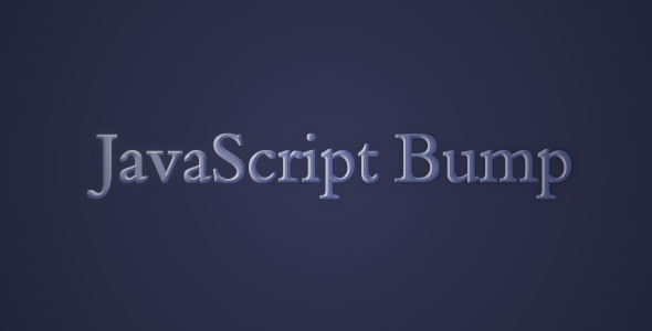 CodeCanyon jQuery Bump Plugin 6684698