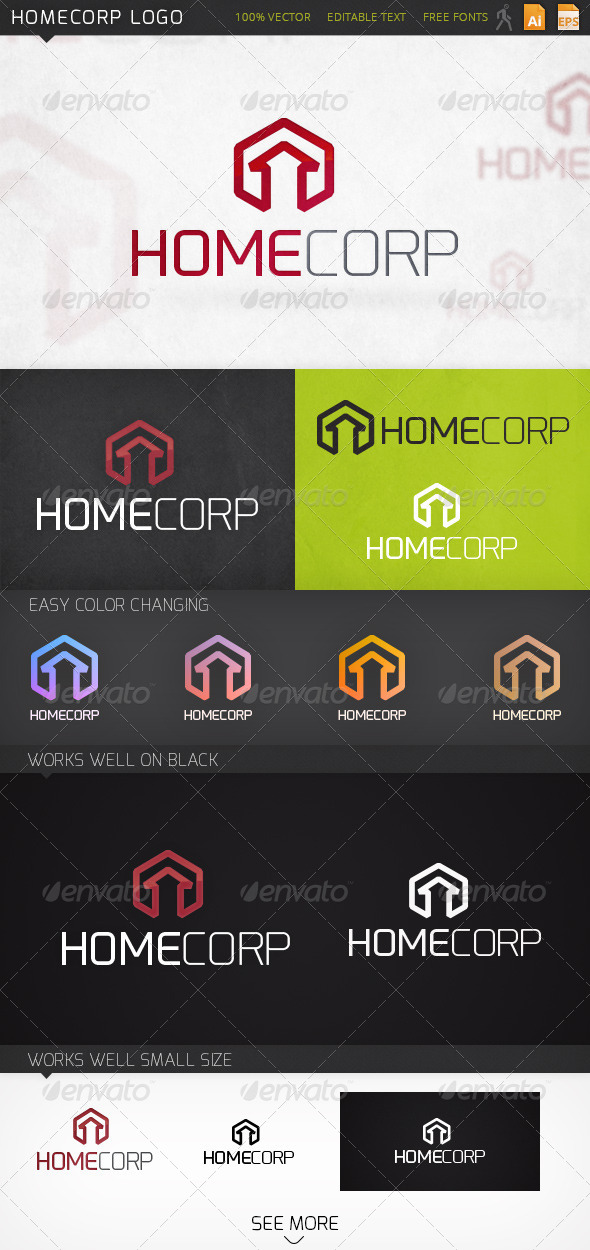 GraphicRiver Homecorp Logo 6684966