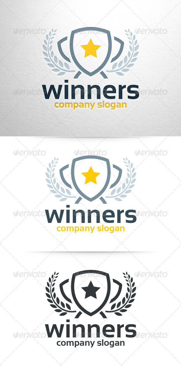 Winners Logo Template - Objects Logo Templates