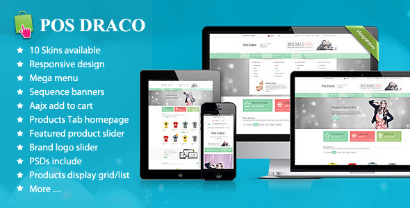 ThemeForest Draco Responsive Prestashop Theme 6685398
