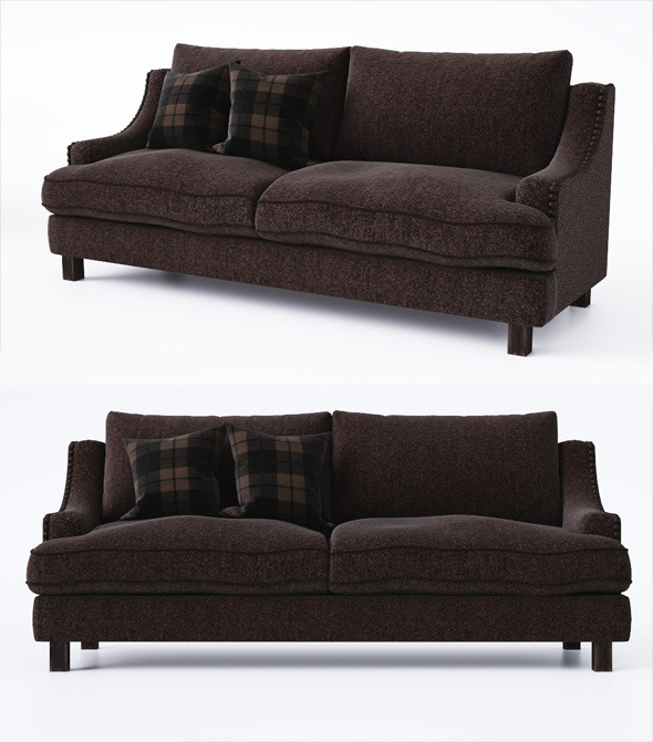 3DOcean Sofa with pillows 6685585