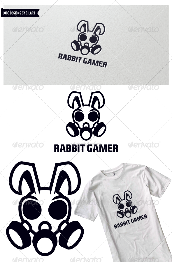 GraphicRiver Rabbit Gamer 6685625