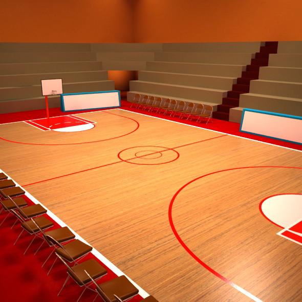3DOcean Basketball Playground 6685783