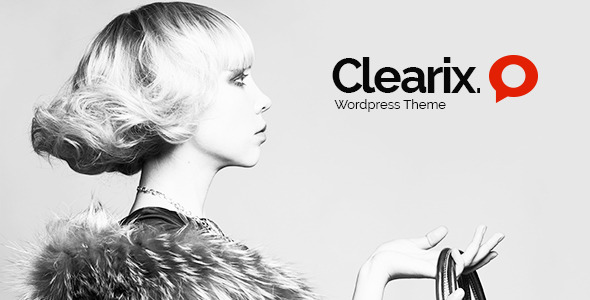 Clearix - Creative Parallax One Page Wordpress