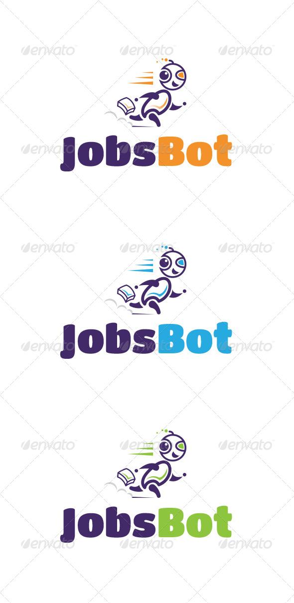 GraphicRiver Jobs Bot Logo Templates 6686574
