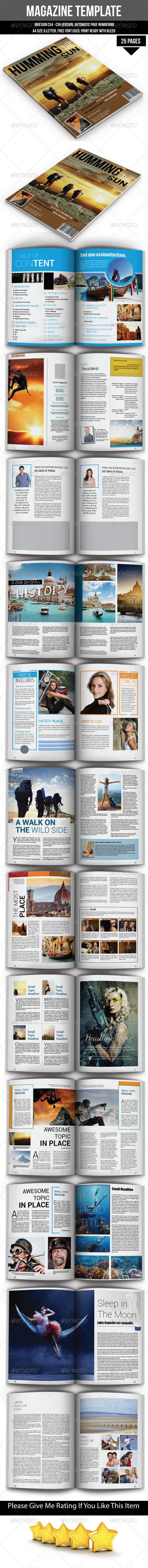 GraphicRiver Magazine Template 6686585
